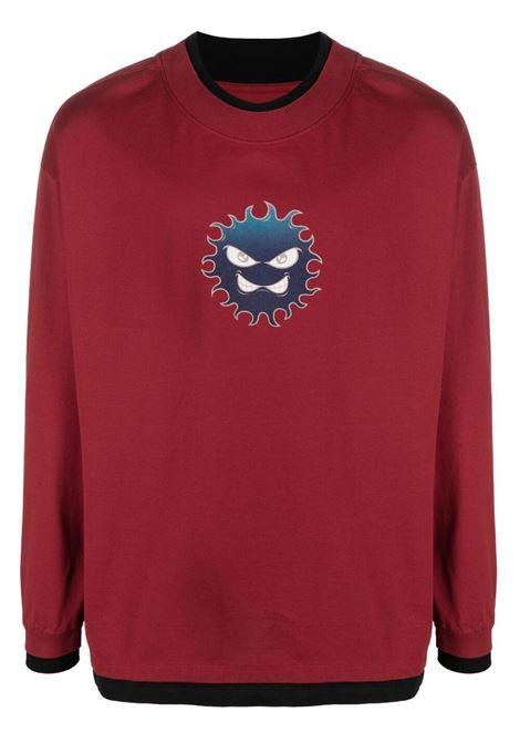 felpa leggera con bordi in contrasto PACCBET | T-shirt | PACC8T0132