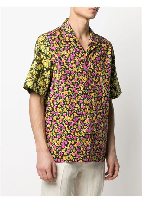 camicia bowling fiorata manica corta PAUL SMITH | Camicia | M1R-028UM-F0143213