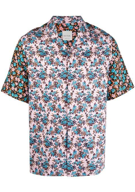 camicia manica corta fiorata PAUL SMITH | Camicia | M1R-028UM-F0143220