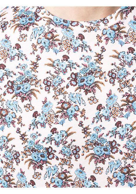 T-shirt a fiori con scollo tondo PAUL SMITH | T-shirt | M1R-202U-FP269620