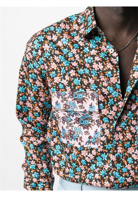 Camicia com stampa a fiori PAUL SMITH | Camicia | M1R-705UM-F0143222