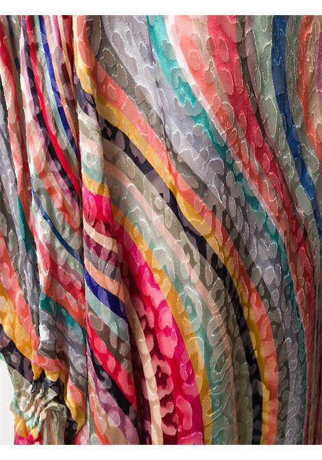 caftano con righe multicolor PAUL SMITH | Caftano | W1A-660E-AU23890A