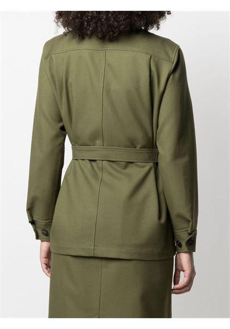 Giacca stile camicia con cintura PAUL SMITH | Giacca | W1R-223J-F1050933