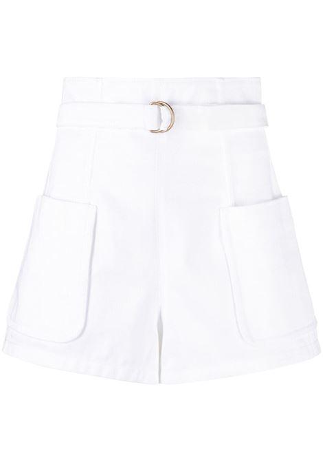Shorts a vita alta con cintura PHILOSOPHY di LORENZO SERAFINI | Shorts | A030421240001