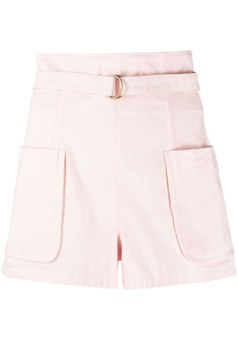 Shorts a vita alta con cintura PHILOSOPHY di LORENZO SERAFINI | Shorts | A030421240226
