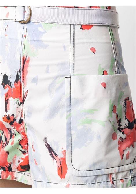 Shorts con cintura con fibbia ad anello PHILOSOPHY di LORENZO SERAFINI | Shorts | A030421411111