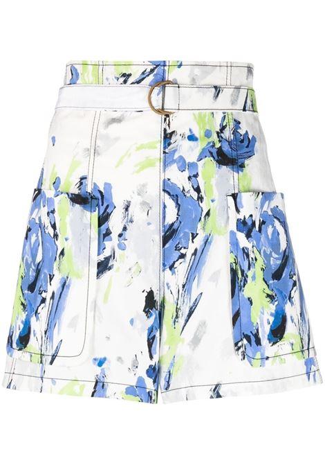 Shorts con cintura regolabile, con fibbia ad anello PHILOSOPHY di LORENZO SERAFINI | Shorts | A030421411297