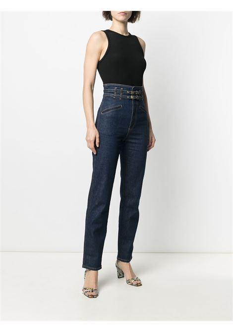 Jeans con cuciture a contrasto e logo PHILOSOPHY di LORENZO SERAFINI | Pantalone | A0308730343