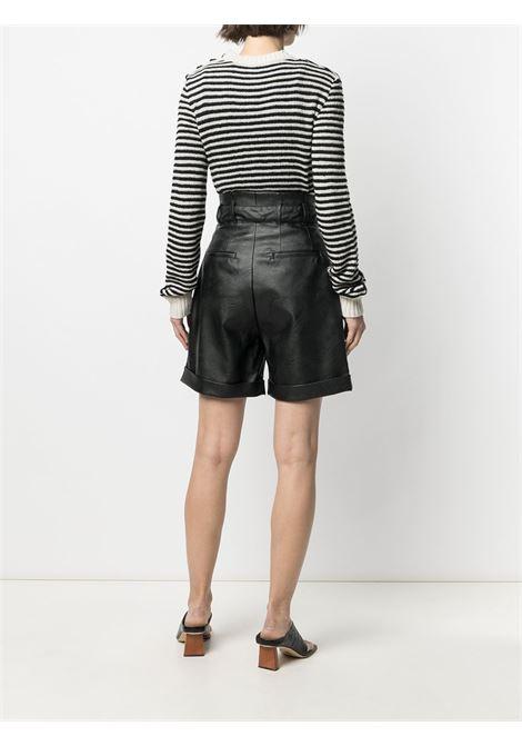 Shorts in ecopelle PHILOSOPHY di LORENZO SERAFINI | Pantalone | A0323740555