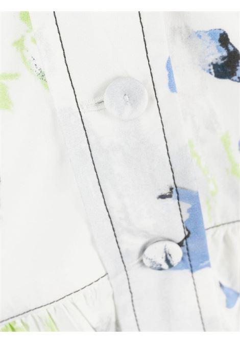 abito scollato a V in cotone PHILOSOPHY di LORENZO SERAFINI | Abito | A041521411297