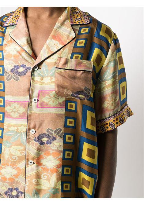 Camicia unisex con stampa PIERRE LOUIS MASCIA | Camicia | ALOE/S10497119415