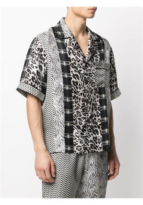 Camicia unisex con stampa PIERRE LOUIS MASCIA | Camicia | ALOE/S10497119439