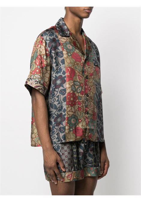 Camicia unisex con stampa PIERRE LOUIS MASCIA | Camicia | ALOE/S10497119443