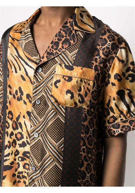 Camicia unisex con stampa PIERRE LOUIS MASCIA | Camicia | ALOE/S10497119446