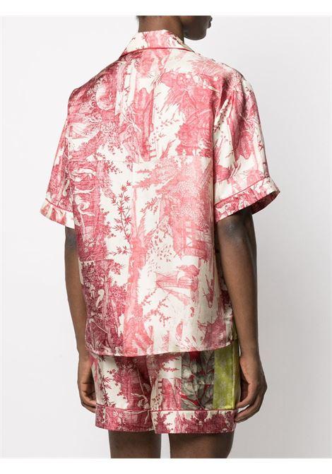 Camicia unisex con stampa PIERRE LOUIS MASCIA | Camicia | ALOE/S10497119454