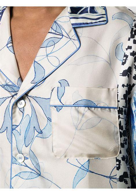 Camicia unisex, mezza manica, con stampa PIERRE LOUIS MASCIA | Camicia | ALOE/S10497119467