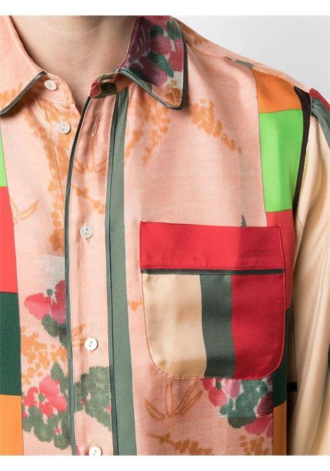 Camicia unisex con stampa PIERRE LOUIS MASCIA | Camicia | ALOE/S10642119442
