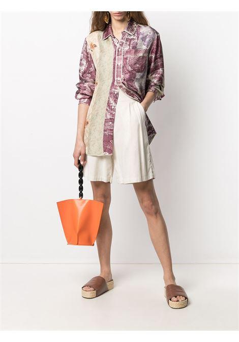 Camicia unisex con stampa e bordini a contrasto PIERRE LOUIS MASCIA | Camicia | ALOE/S10642119459