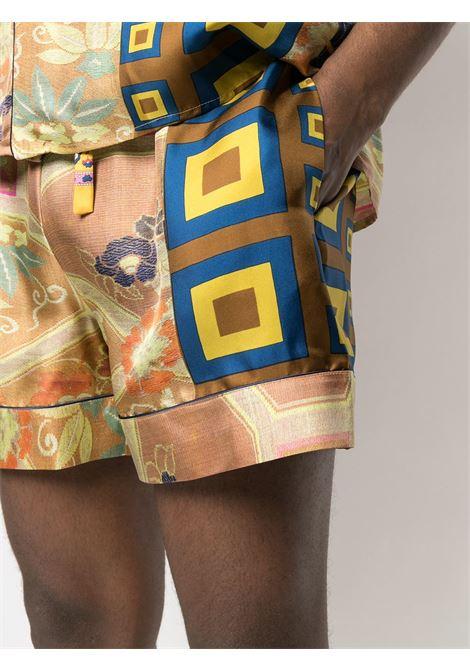 Shorts unisex con stampa PIERRE LOUIS MASCIA | Shorts | ALOE/S11068119415