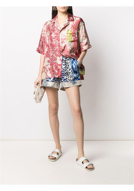 Shorts unisex con stampa PIERRE LOUIS MASCIA | Shorts | ALOE/S11068119467