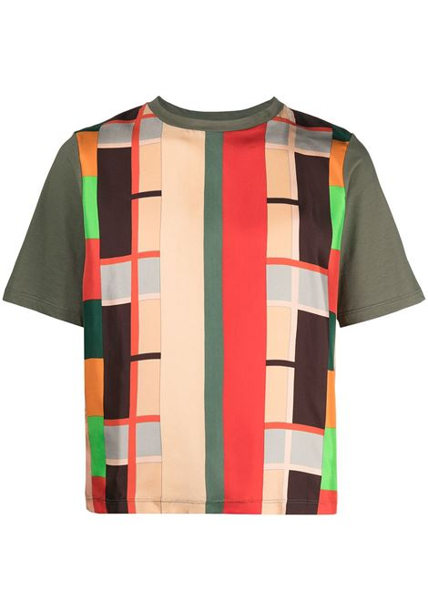 T-shirt unisex con stampa PIERRE LOUIS MASCIA | T-shirt | ALOEESTIMA10493442