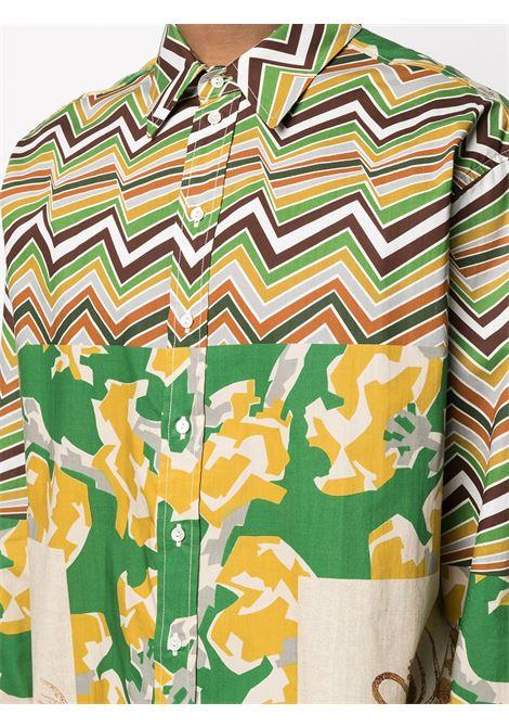 Camicia unisex con stampa PIERRE LOUIS MASCIA | Camicia | RAZZOLI/S11085502503