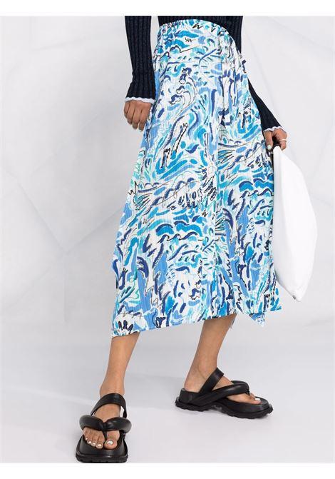 pantalone ampio  con elastico in vita PLEATS PLEASE | Pantalone | PP16JF22372