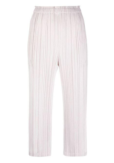 Pantaloni crop plissettati PLEATS PLEASE | Pantalone | PP16JF45540