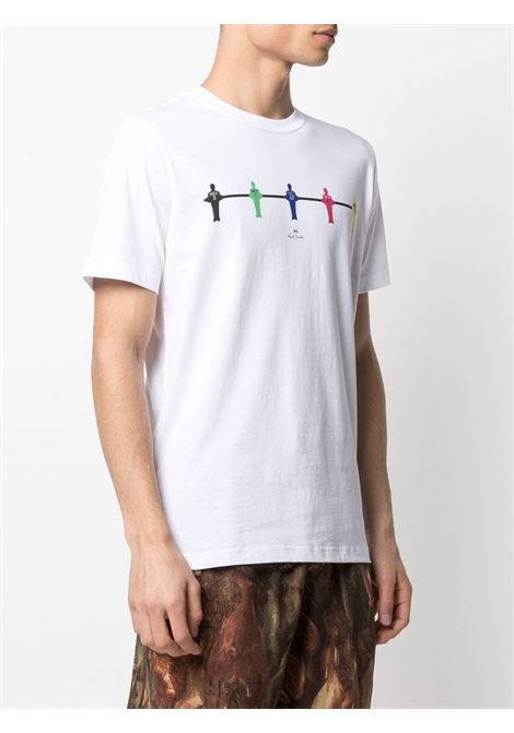 t-shirt manica corta con stampa table football PS PAUL SMITH | T-shirt | M2R-011R-FP261701