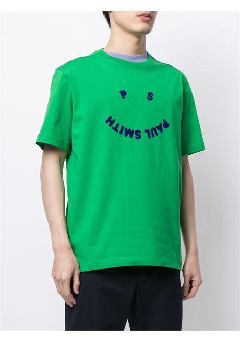 t-shirt manica corta con logo smile PS PAUL SMITH | T-shirt | M2R-226T-FP247133