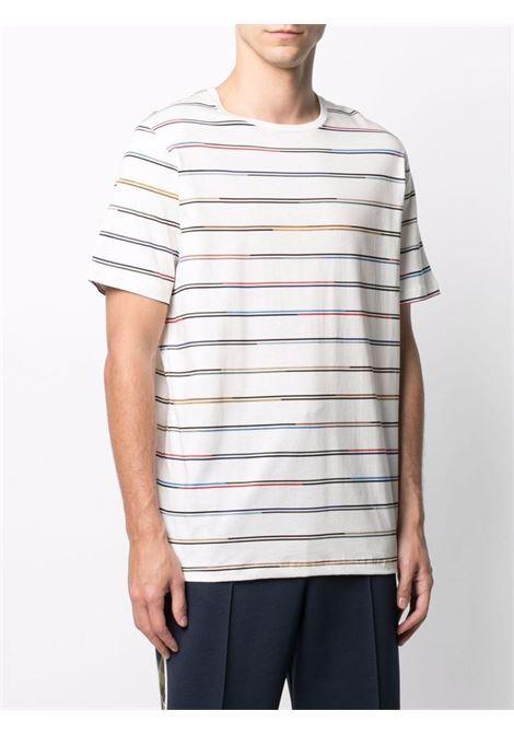 t-shirt girocollo manica corta a righe multicolor PS PAUL SMITH | T-shirt | M2R-238U-F2116502
