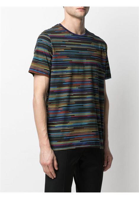 t-shirt manica corta a righe multicolor PS PAUL SMITH | T-shirt | M2R-238U-F2116579