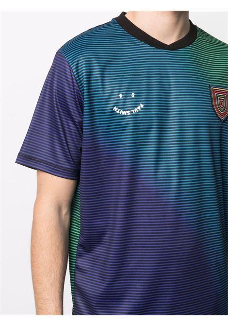 t-shirt manica corta a righe con logo PS PAUL SMITH | T-shirt | M2R-593U-F2111592