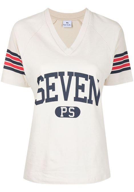 t-shirt scollo a V manica corta PS PAUL SMITH | T-shirt | W2R-184V-FP244404