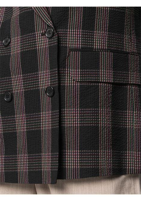 Giacca doppiopetto in tessuto Seersucker PS PAUL SMITH | Giacca | W2R-204J-F3073479