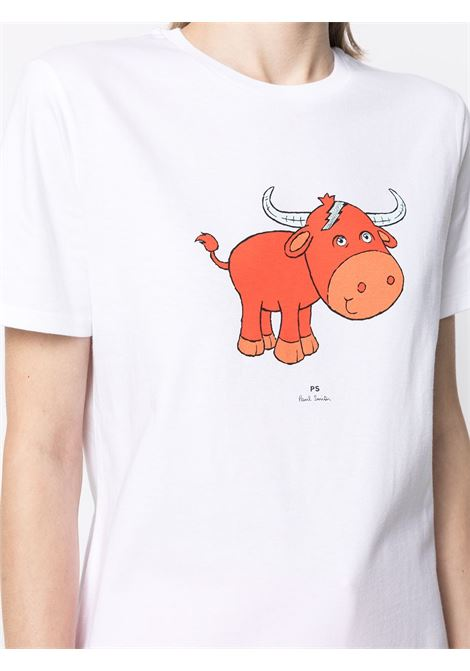 t-shirt manica corta con stampa PS PAUL SMITH | T-shirt | W2R-G799-FP244301