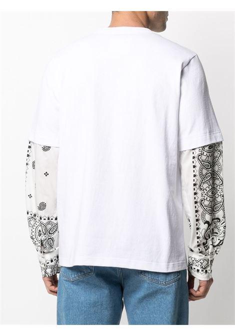 T-shirt con maniche a camicia SACAI | T-shirt | 21-02477M101