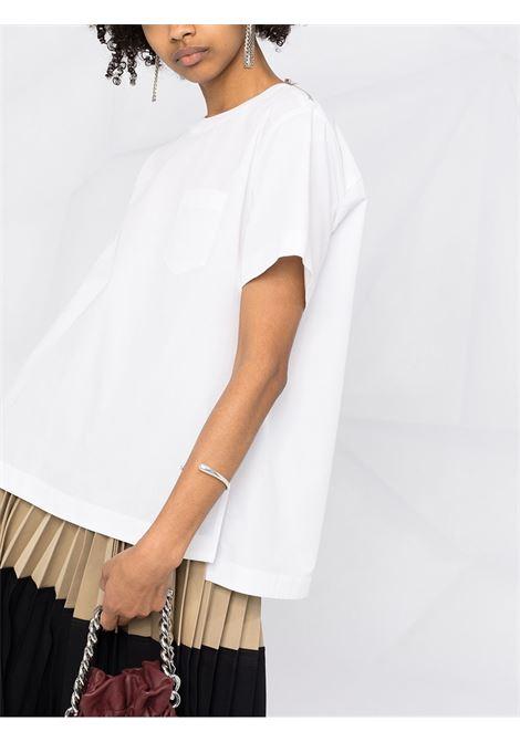 T-shirt con top SACAI | Maglia | 21-05397377