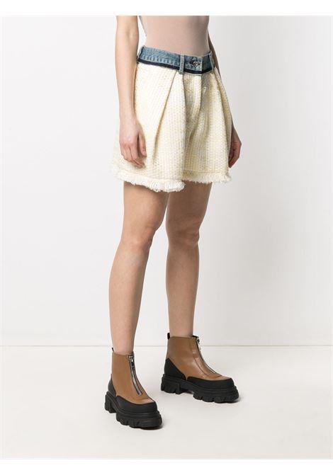 Shorts a vita alta con orlo sfrangiato SACAI | Shorts | 21-05428454