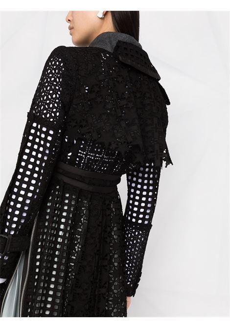 Cappotto in pizzo sangallo con cintura SACAI | Cappotto | 21-05457001