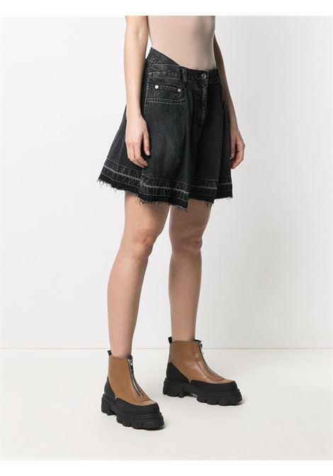 Shorts a vita alta in denim SACAI | Shorts | 21-05477001