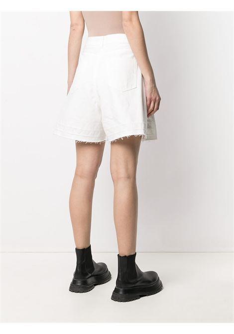 Shorts a vita alta in denim SACAI | Shorts | 21-05477101