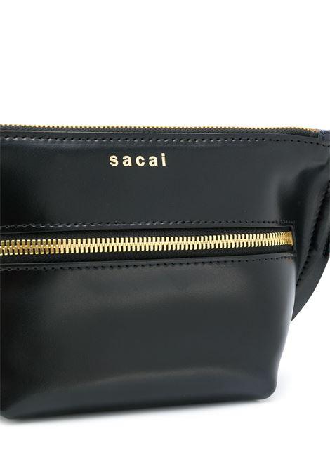Borsa in pelle con logo SACAI | Borsa | S042-01001