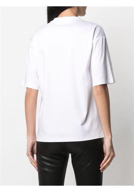 T-shirt elasticizzata con stampa multicolor SPORTMAX | T-shirt | AEROSO001