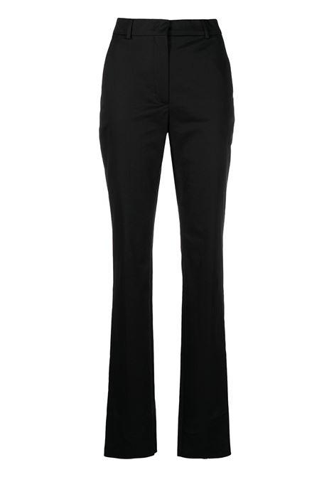 Pantalone nero in misto cotone SPORTMAX | Pantalone | AGENTE003