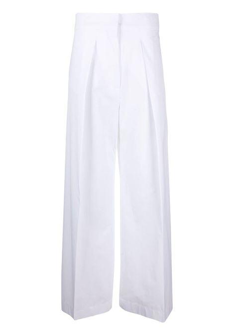 Pantaloni con gamba ampia, dritta SPORTMAX | Pantalone | VISONE001