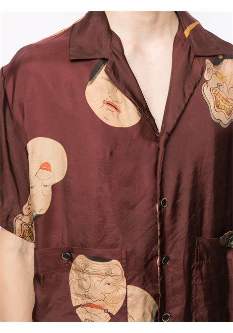 Camicia mezza manica con stampa UMA WANG | Top | UM1507UW792