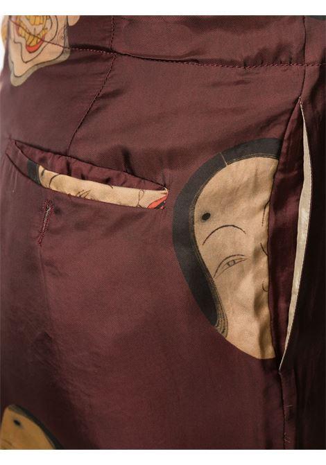 Shorts con stampa e vita con coulisse UMA WANG | Shorts | UM3532UW792