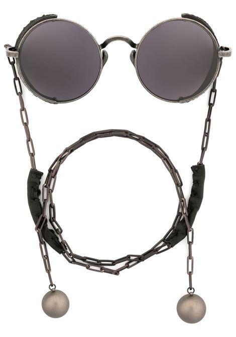 occhiale tondo con catena RIGARDS per UMA WANG UMA WANG | Occhiali | UW0004UWBBG