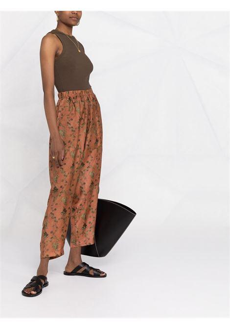 Pantalone sfoderato con elastico in vita UMA WANG | Pantalone | UW3012UW552